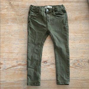 Zara little boy 2-3 year pants